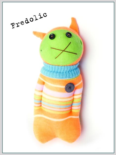 Muñeco de Tikitaka Mr. Fredolic
