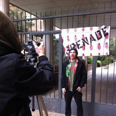 Genial, es la palabra que definiría a como lo pasamos produciendo el video con Orlando de Grenade!!!!!