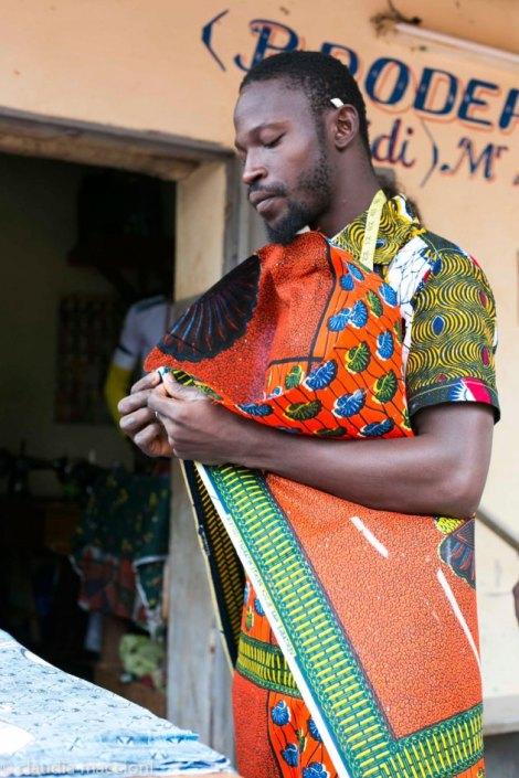 moda étnica, esencia de África.