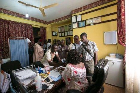 Los hospitales en Ghana...examen de conciencia para el primer mundo