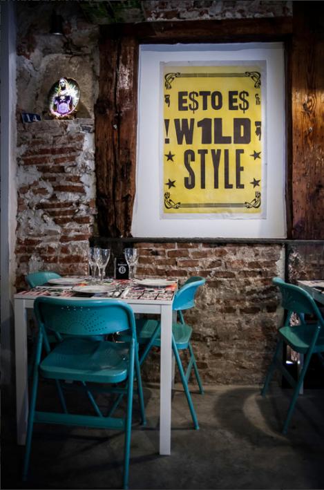 ambiente acogedor en Madrid, decoración espectacular!!!