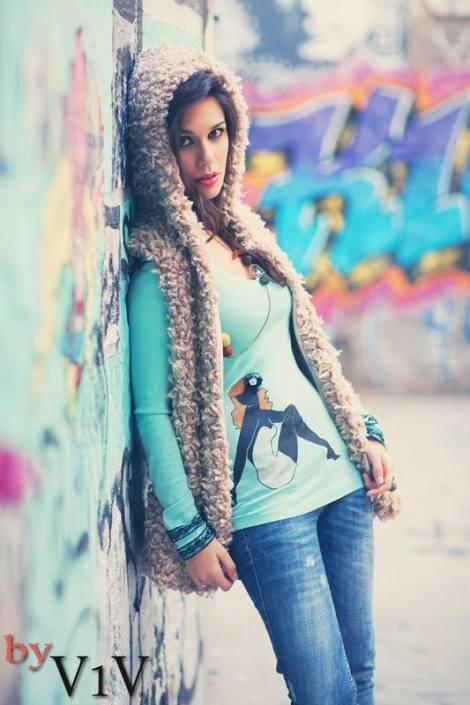 Un look muy casual,  este invierno abrigadas pero fashion!!