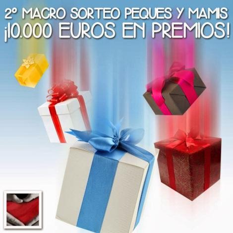 Macro sorteo , 10000 € en regalos