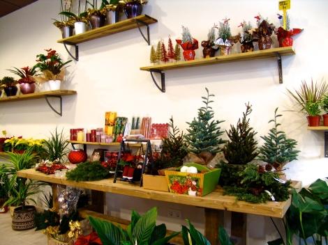 Los detalles de Navidad, combinados con elementos vintage.