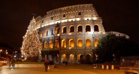 Imponente el Colisseum de Roma, y un lugar inolvidable para un fin de año espectacular!!!!