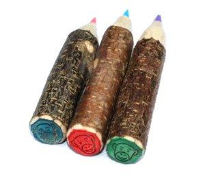 Combinación muy original, lápiz de color y sello, lleva más allá a tu imaginación!!!!