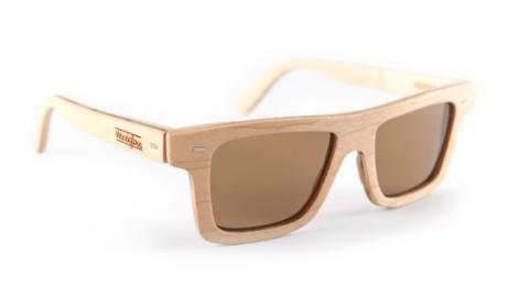 Las gafas Indie, un modelo de Woodglass , amantes de la madera.