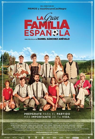 Una de las nominadas a mejor película, laLa gran familia española.