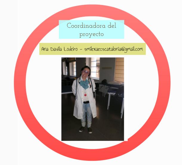 Ana Davila, la coordinadora del proyecto, encantadora!!!