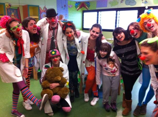 Un equipo sensacional de gente autentica!!! Clowns URV de Reus, inspirador!!!