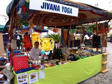 Nuestros amigos de Jivana Yoga , un puesto especial!!!