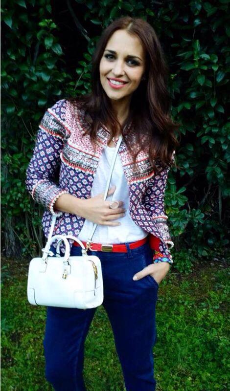 Nuestra musa y compañera bloggera Paula Echevarria, con un outfit de Holy Prepy, encuentrala en Müler.