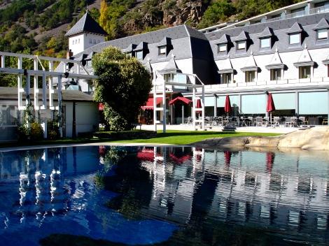 Nos alojamos en el Andorra Park Hotel,  un capricho que sin duda hay que probar!!!