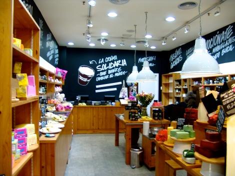 Una tienda con encanto, Lush CC Gran Via ,…genial!!!