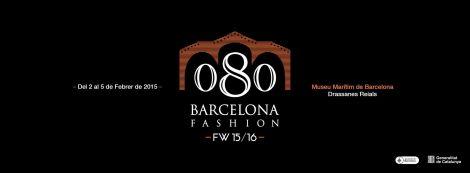 Cartel de la próxima edición del 080 Barcelona Fashion.