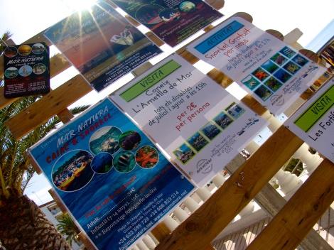 La variedad de Actividades de Mar Natura… bike, snorkel, caiak, salidas nocturnas…brutal!!!!