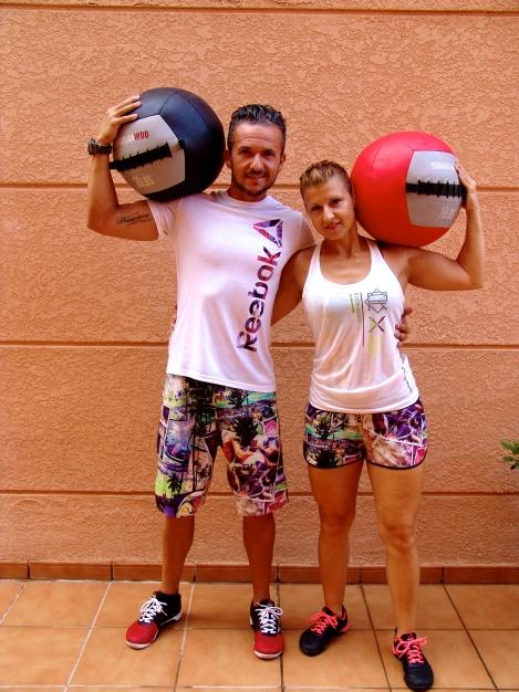 Ricardo Y Jacqueline, personal trainers pero ante todo, grandes personas.